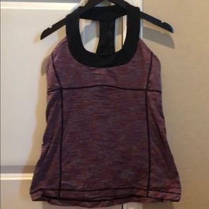 Lululemon scoop neck tank size 12